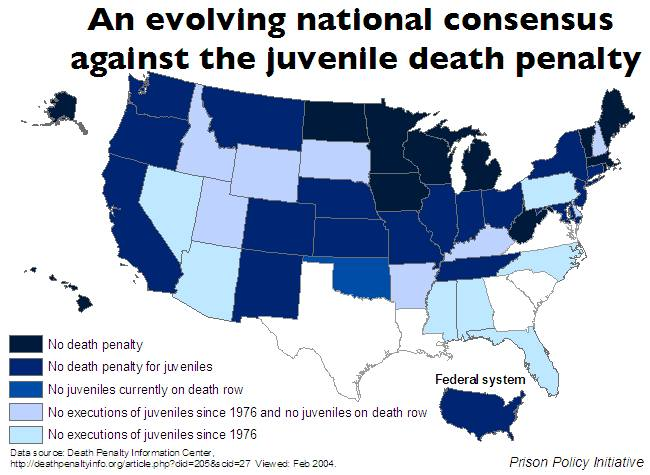 Us Map Death Penalty