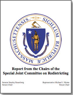 Report from the Chairs of the Special Joint Committee on Redistricting