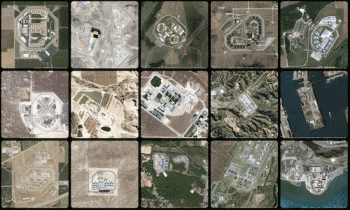 thumbnail of Josh Begley's work 'Prison Map'