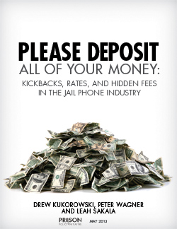 Please Deposit All of Your Money - Report | Prison Policy Initiative