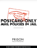 Return to Sender: Postcard-only Mail Policies in Jails
