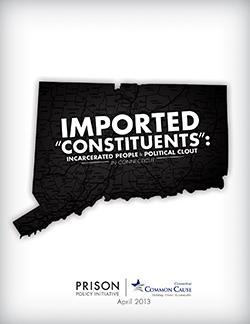 Cover of Imported 'Constituents': Incarcerated People and Political Clout in Connecticut