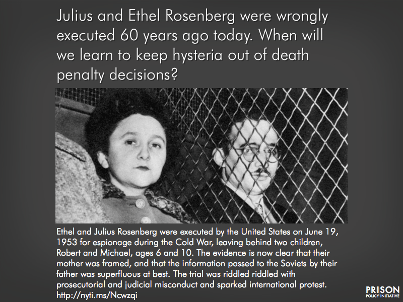 the rosenbergs should be considered as Check-out the new famous trials website at wwwfamous-trialscom: the new website has a cleaner look, additional video and audio clips, revised trial accounts, and new features that should improve the navigation.