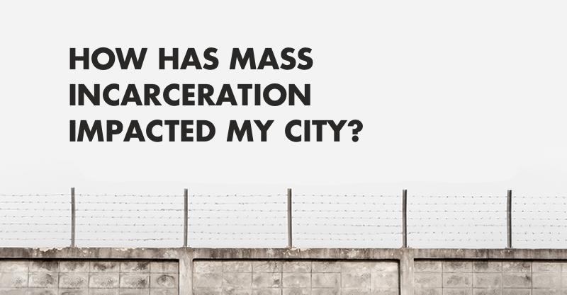 How America's major urban centers compare on incarceration